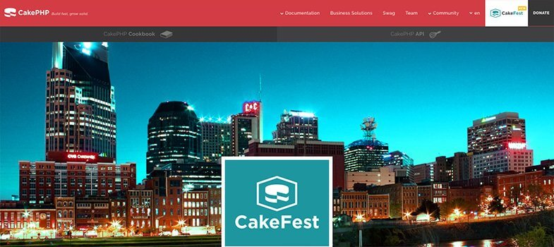 features of cakePHP