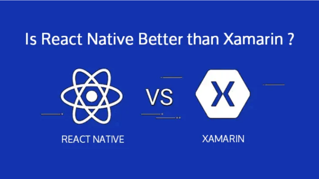comparison of react native and xamarin