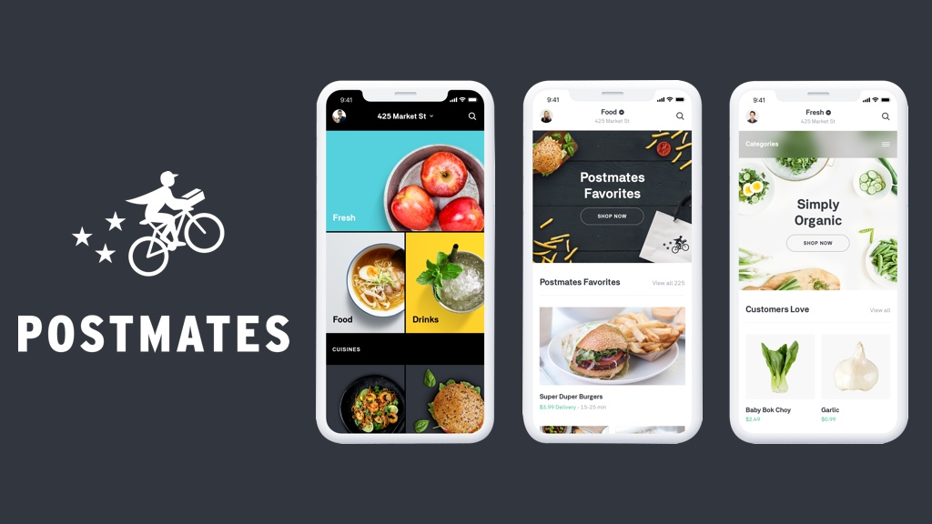 working procedure of postmates