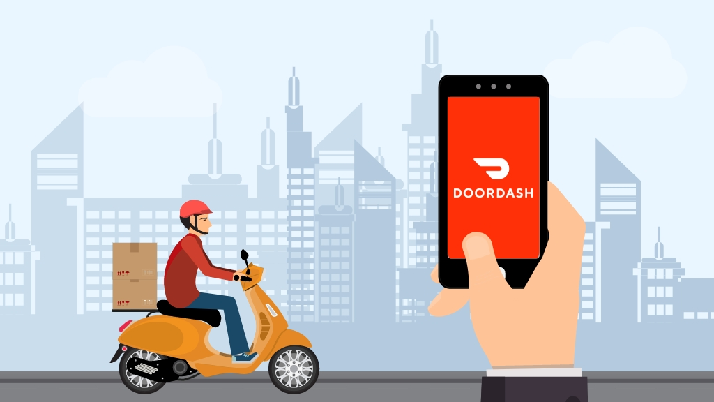 How doordash make money