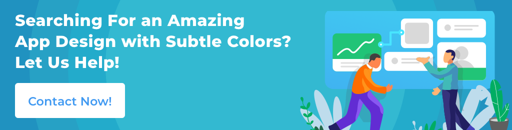 mobile app color palette