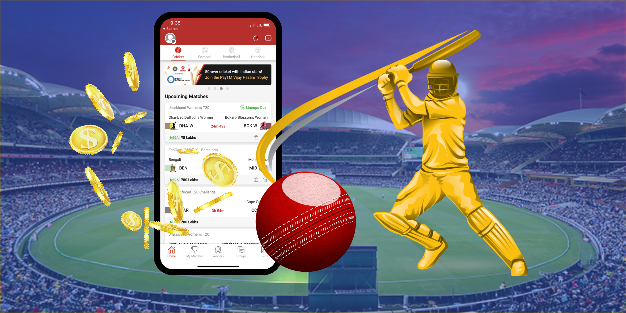 ipl score app development